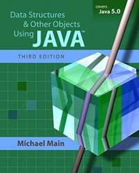 image of Data Structures and Other Objects Using Java (3rd Edition)