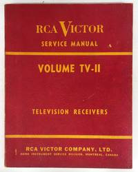 image of RCA Victor Service Manual on Television receivers from 1952-1953 (Volume TV-II)
