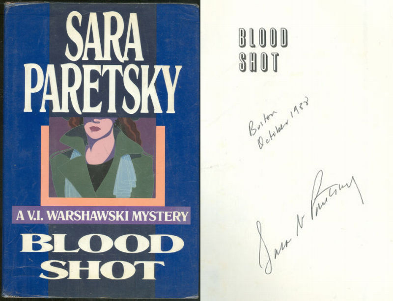 BLOOD SHOT, Paretsky, Sara