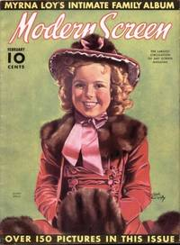 MODERN SCREEN (FERUARY 1938) SHIRLEY TEMPLE COVER Volume 16, No. 3