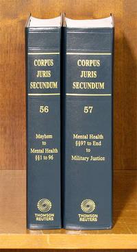 Corpus Juris Secundum. Vols. 56 & 57 Mayhem to Military Justice 2 bks
