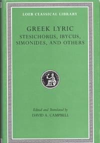 Greek Lyric: Stesichorus; Ibycus; Simonides; a.o.