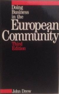 Doing Business in the European Community (Blackwell Companions to Literature and Culture)