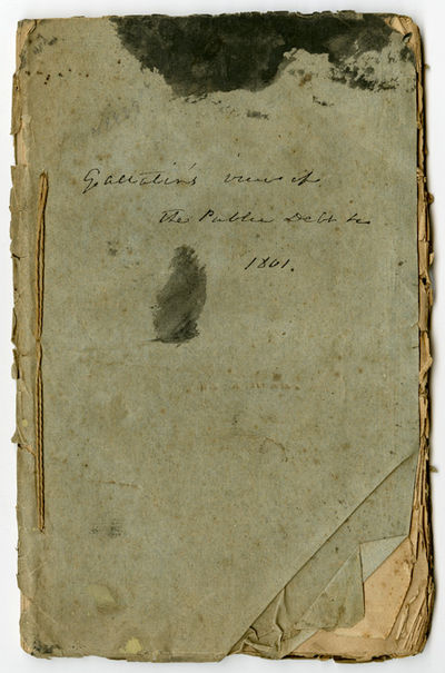 Philadelphia: Mathew Carey, 1801. 72,pp. Contemporary plain wrappers, sewn, contemporary manuscript ...