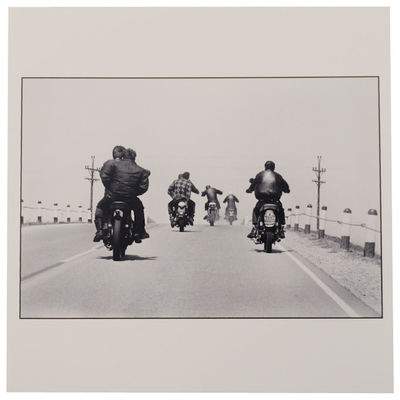 np: np, nd. Digital C-Print of a classic image by Danny Lyon that was featured as the cover of his s...