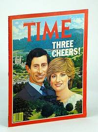 Time Magazine (Canadian Edition), August (Aug.) 3, 1981 - Chuck and Di Cover Illustration