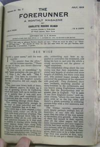 The Forerunner (Volume IV, January - December 1913)