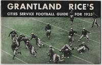 image of Grantland Rice's Cities Service Football Guide for 1933