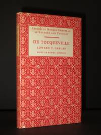 De Tocqueville: (Studies in Modern European Literature and Thought Series)