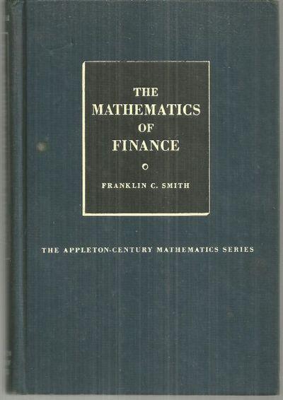 MATHEMATICS OF FINANCE, Smith, Franklin