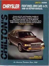 Chilton's Chrysler Front Wheel Drive Cars 6-Cyl 1988-95 Repair Manual