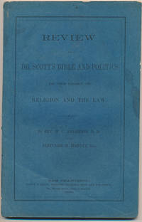 Review of Dr. Scott's Bible and Politics in the Light of Religion and the Law