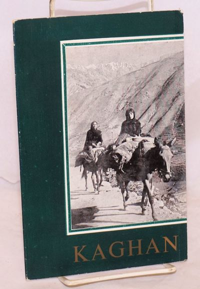 Peshawar: Dept. of Tourism, 1954. 14p., wraps, folded map in colors. Travel guide for visitors to th...