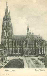 Germany – Koln a Rhein, Dom Sudseite 1906 unused Postcard