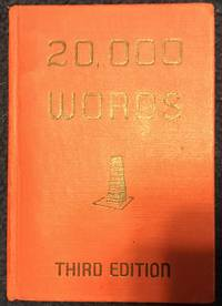 20,000 Words by Louis A. Leslie - Hardcover - Third - July, 1953 - from Revue & Revalued Books  (SKU: 492)