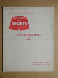 """Sheffield Local Association of Boy Scouts present """"Shorts"""" A Ro-Vue in 27 Styles"""