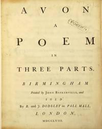Avon: a poem in three parts