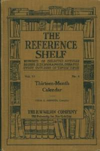 image of Thirteen-month Calendar (The Reference Shelf, Volume VI, No.4)