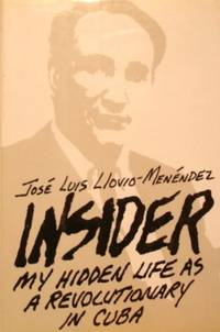 Insider: My Hidden Life As a Revolutionary in Cuba. by  Jose Luis Llovio-Menendez - First Printing - 1988 - from tuckerstomes and Biblio.com
