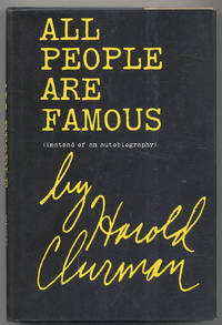 All People Are Famous (Instead of an Autobiography)