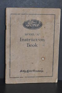 """image of Ford Model """"A"""" Instruction Book (1930)"""