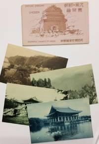 Picture Postcard / Chosen [Set of four postcards from colonial-era Korea, in original envelope]