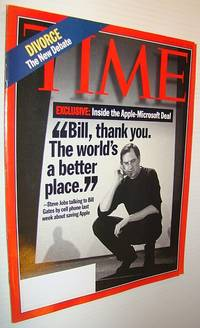 Time Magazine, August 18, 1997 - Steve Jobs Cover/The Apple-Microsoft Deal