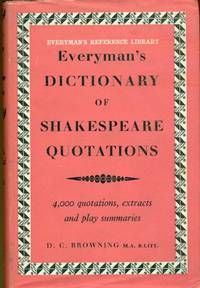 Everyman's dictionary of Shakespeare quotations