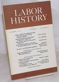 image of Labor history. vol 11, no. 3, Fall, 1970