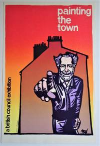 Painting the Town; A British Council Exhibition: Silkscreen Exhibition Poster