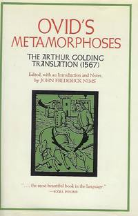 OVID'S METAMORPHOSES: THE ARTHUR GOLDING TRANSLATION (1567)