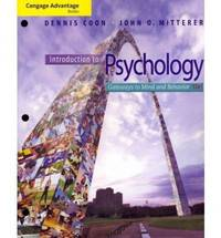 image of Introduction to Psychology (Gateways to Mind and Behavior)