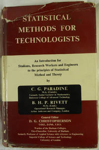 Statistical Methods for Technologists