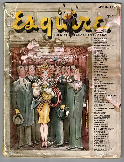 Chicago: Esquire, Inc, 1950. Large quartos, original pictorial wrappers, all but two signed by Gardn...
