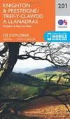 Knighton and Presteigne Tref-y-Clawdd a Dyffryn Elan (OS Explorer Map) by Ordnance Survey - 2015-09-16 - from Books Express and Biblio.com