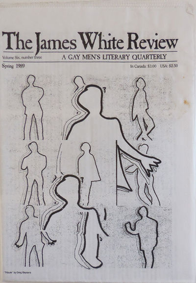 Minneapolis: The James White Review, 1989. First edition. Paperback. Very Good. Folded tabloid newsp...