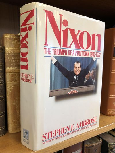 New York: Simon and Schuster, 1989. First Edition, First Printing. Hardcover. Octavo, 736 pages; VG/...