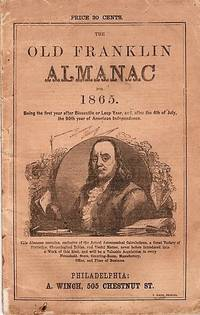 THE OLD FRANKLIN ALMANAC NO. 6, FOR 1865