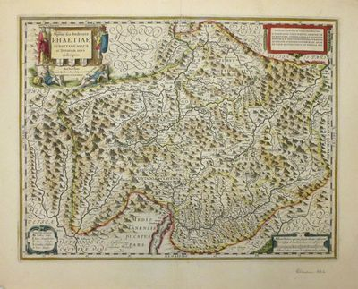 Amsterdam: Willem Blaeu, 1662. unbound. Map. Engraving. Image measures 15 x 19.5