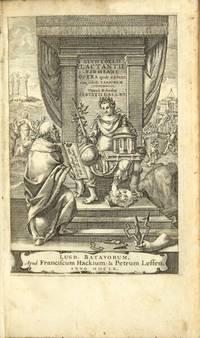 Lucii Coelii Lactantii Firmiani Opera, quae extant. Cum selectis variorum commentariis, opera et studio Servatii Gallaei