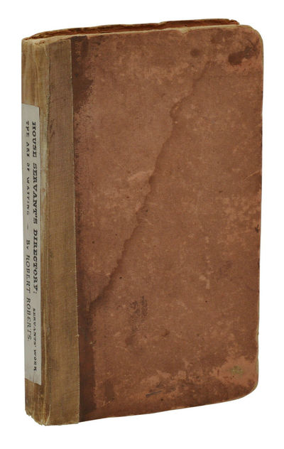 Boston & New York: Munroe and Francis; Charles S. Francis, 1827. First Edition. Very Good. First edi...