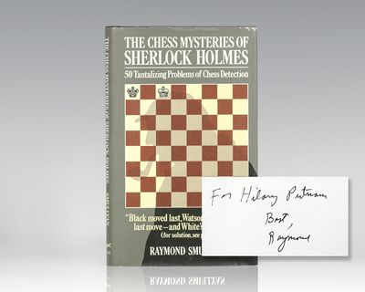 New York: Alfred A. Knopf, 1979. First edition of puzzlemaster Raymond Smullyan's book of chess prob...