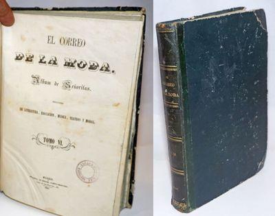 Madrid / Paris: Miguel Campo-Redondo / Lamourex, 1858. 384p., texts printed on reasonably alkaline s...