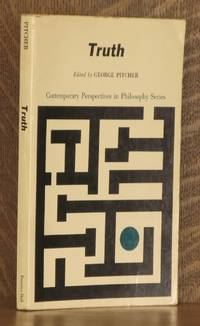 TRUTH by edited by George Pitcher - Paperback - Second printing - 1964 - from Andre Strong Bookseller (SKU: 18264)