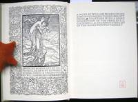A Note by William Morris on His Aims in Founding the Kelmscott Press. Together with a Short Description of the Press...