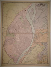 Rand, McNally & Co's Indexed Atlas of the World Map of St. Louis by RAND MCNALLY & CO - 1896 - from Argosy Book Store (SKU: 227687)