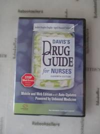 Davis's Drug Guide for Nurses CD version Unbound Medicine 11th for PDA, Web & Wireless