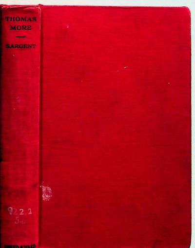 New York: Sheed and Ward, 1933. Hardcover. Very Good. Hardcover. Clean, Vg x-lib in red boards Engli...