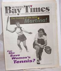 image of San Francisco Bay Times: the gay/lesbian/bi/trans newspaper_calendar of events for the Bay Area; [aka Coming Up!] vol. 18, #4, Nov. 14, 1996; The Coming of the New Martina!