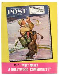 [Poster]: The Saturday Evening Post. May 19, 1951: What Makes A Hollywood Communist? A Case History of one of the Hollywood Ten